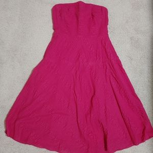 😍 2/$30 J.crew strapless dress